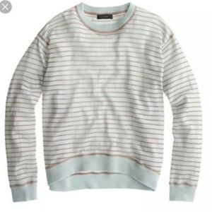 J Crew $79 Womens Sweater , Merino Wool Metallic S